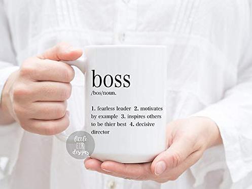 Boss Definition 15 oz Coffee Mug