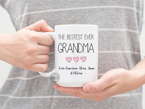 The Best Grandma Custom Name