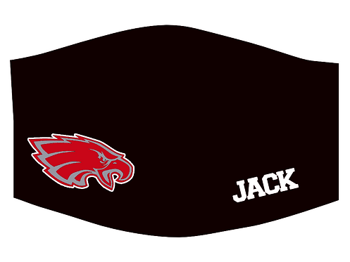 Frankton Eagles face mask