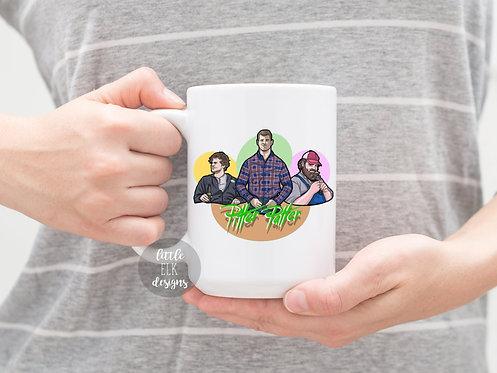 Letterkenny Tribute Mug , Pitter Patter Letterkenny Mug , Letterkenny gift , Pit