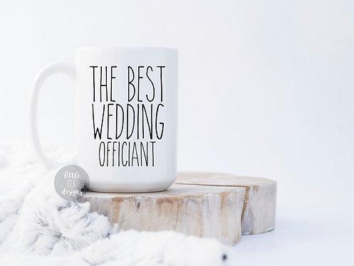 Wedding Officiant 15 oz Coffee Mug Gift