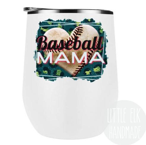 Baseball Mama Wine Tumbler