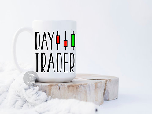 day trader coffee mug