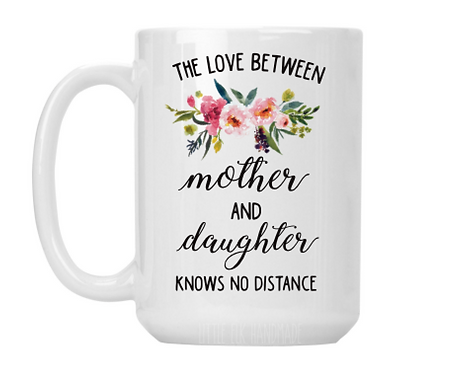 Mother and Daughter Distance Mug