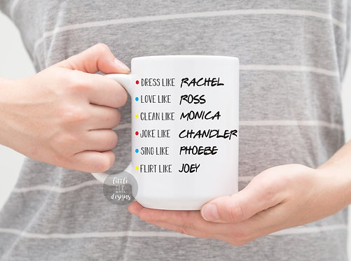 Friends Cast 15 oz Coffee Mug