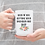 master's degree coffee mug