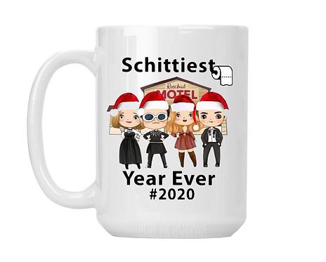 Schittiest Year Ever 2020 Coffee Mug, Schitt's Creek Coffee Mug