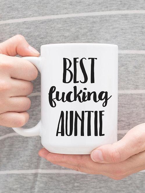 Best F*cking Auntie 15 oz Coffee Mug