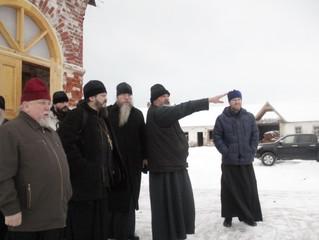 Наместник Иосифо-Волоцкого монастыря архимандрит Сергий проинспектировал Филиппо-Ирапскую пустынь