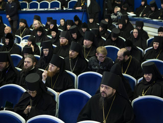 Наместник монастыря архимандрит Сергий принял участие в Международных Рождественских чтениях