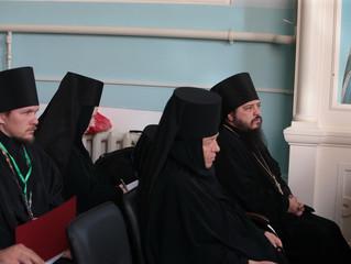 Наместник Иосифо-Волоцкого монастыря архимандрит Сергий принял участие в работе круглого стола «Особ