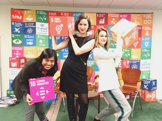 The TF Youth participate in the United Nations ECOSOC Youth Forum in New York City!