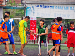 Football for All in Viet Nam focuses on inclusive access for all regardless of ability