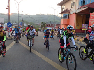 2000 people participate in the Malaysian Temenggor Dam Fun Ride!! Supported by our TF Member