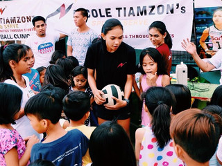 When stars give back: Nicole Tiamzon's Spike and Serve
