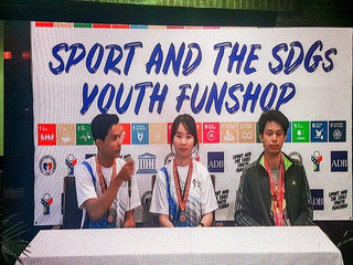 Youth Interviews at the UNESCO Sport & SDGs Youth Funshop