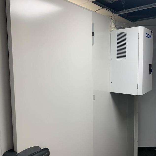 Montage koelkamer op maat - Montage chambre froide sur mesure