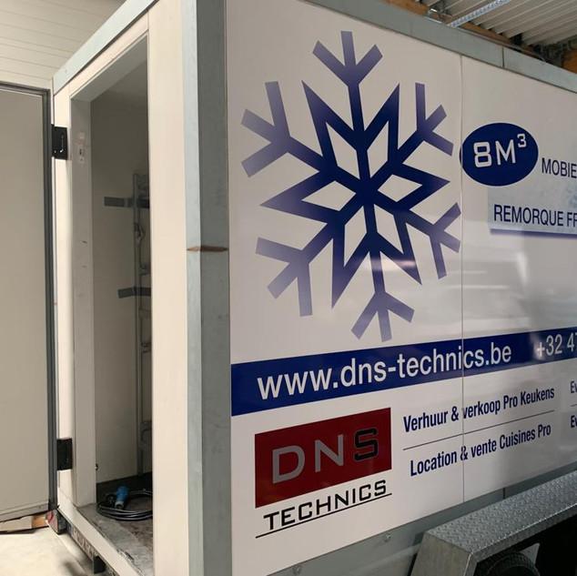 Koelwagen - Remorque frigorifique