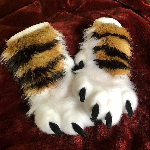 Tiger Paw and Tail Set