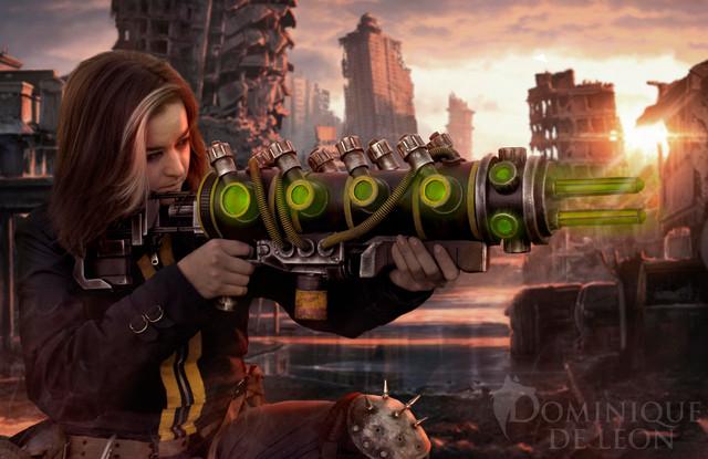 Multiplas Rifle - Fallout New Vegas
