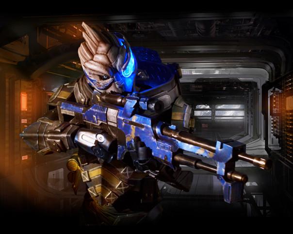Garrus - Mass Effect