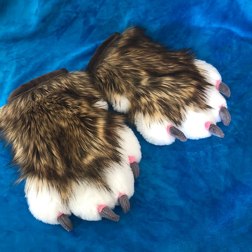 Feral Style Brown Hand Paws