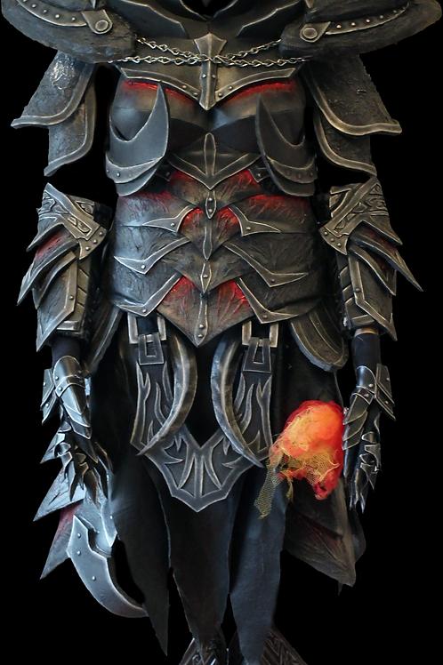 Female Daedric Armor