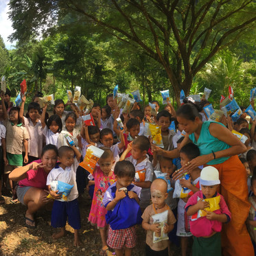 The Learning Village: with the Karen Community