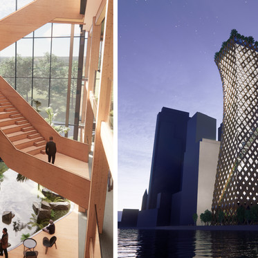 Sustainable Timber Offices of the Future