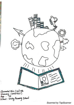 Doodle Art - Architecture Saving OUR World