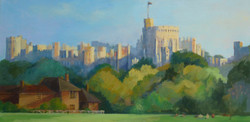 Windsor Castle in the afternoon