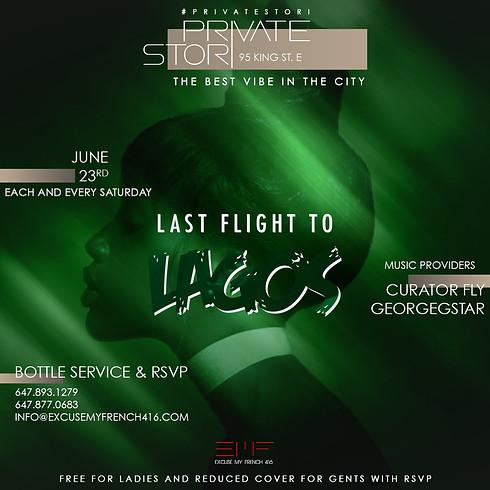 Private Stori - Last Flight to Lagos