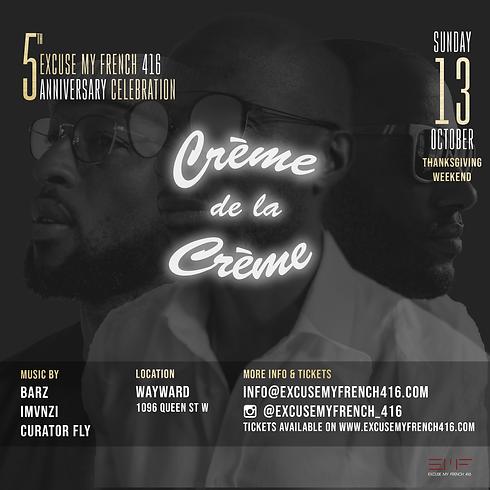 Creme de la Creme | 5th Year Anniversary Edition
