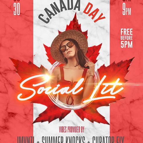Social Lit   Canada Day