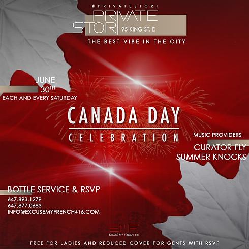 Private Stori - Canada Day