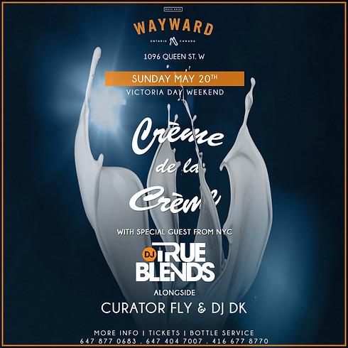 Creme de la Creme with DJ True Blends (NYC)
