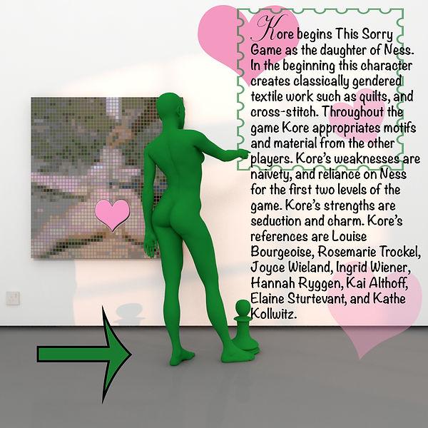Kore's character description