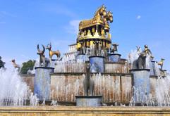 Colchi fountain, Kutaisi