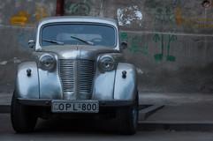 Classic car in Tbilisi