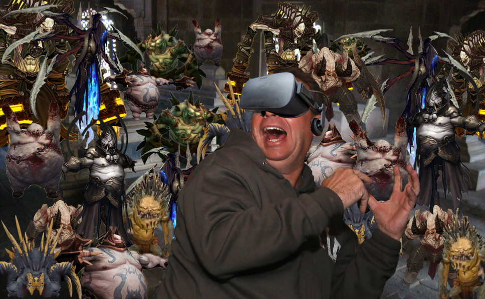 Blizzard Developing Diablo III VR to Traumatize People With Claustrophobia