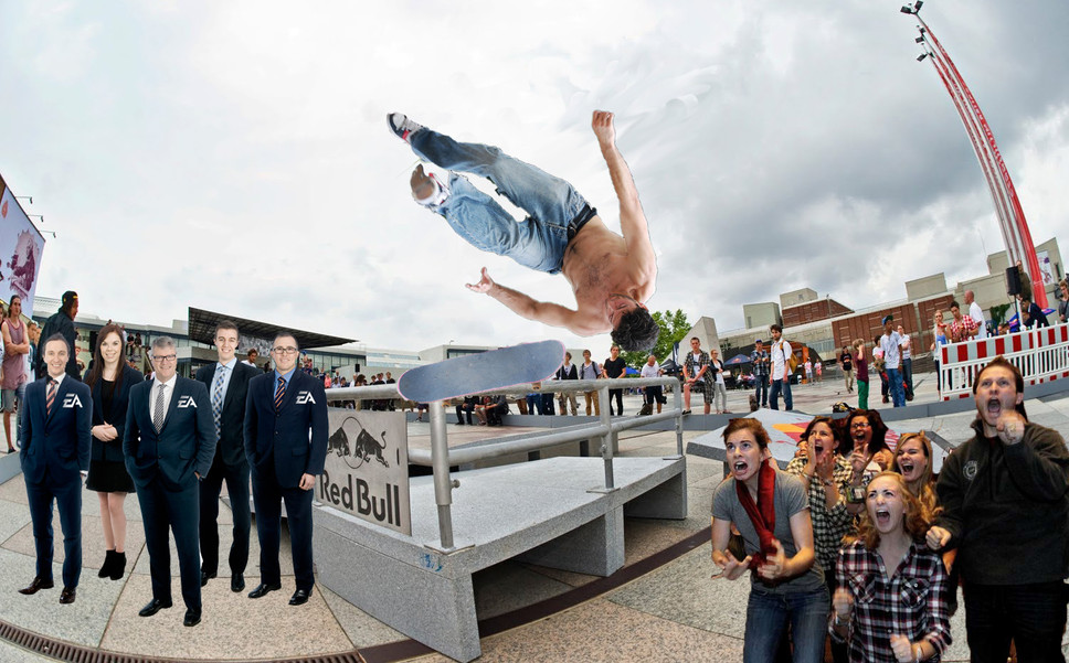 EA Willing to Make Skate 4 if Shirtless Dude at Skate Park Can Land a Single Trick