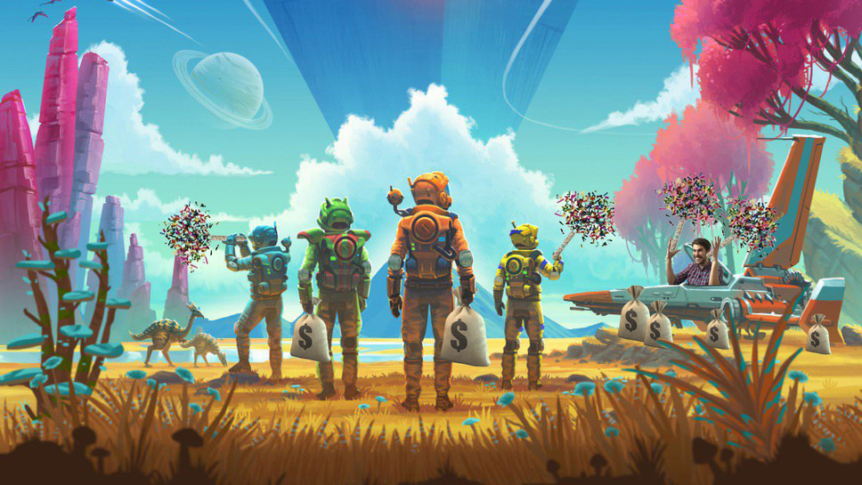 Hello Games Pleasantly Surprised by Eight New Copies of No Man's Sky Sold After Latest Update