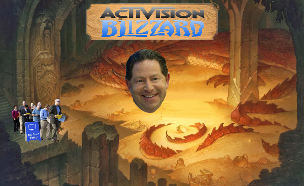 Activision Lays Off 800 Employees to Make Room for Piles of Cash They're Raking in