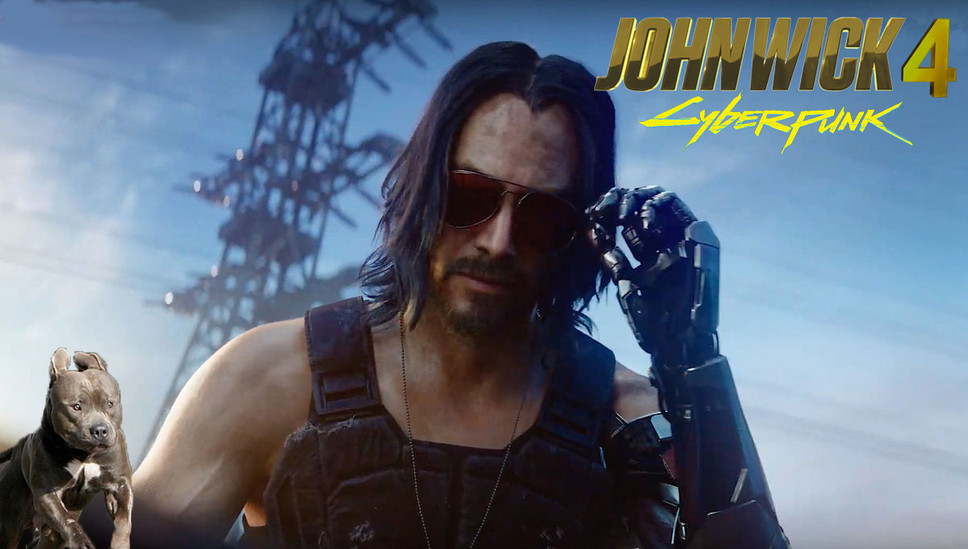 John Wick 4 to Take Place Entirely Within Cyberpunk 2077