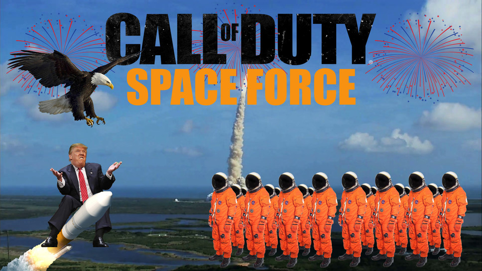 Infinity Ward and Treyarch Vying for Funding from Activision to Make Call of Duty: Space Force