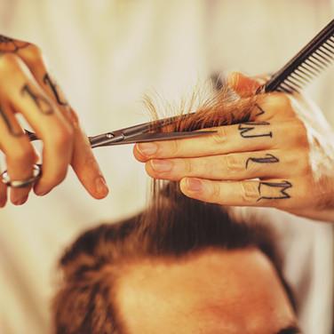 Männlich Haircut