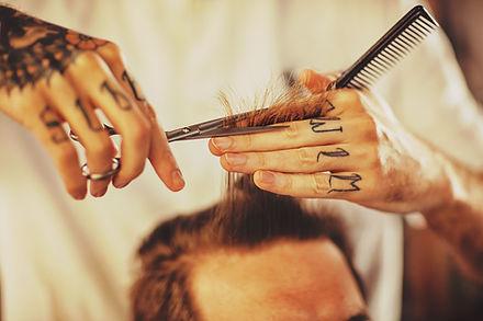Mężczyzna fryzura
