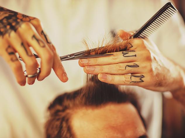 Male Haircut