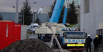 La société MLTM propose des services de manutention, levage et transports