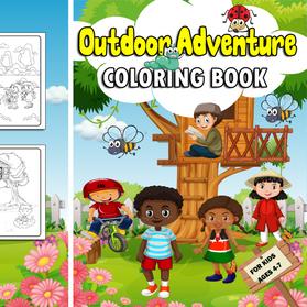 Outdoor Adventure Coloring Book